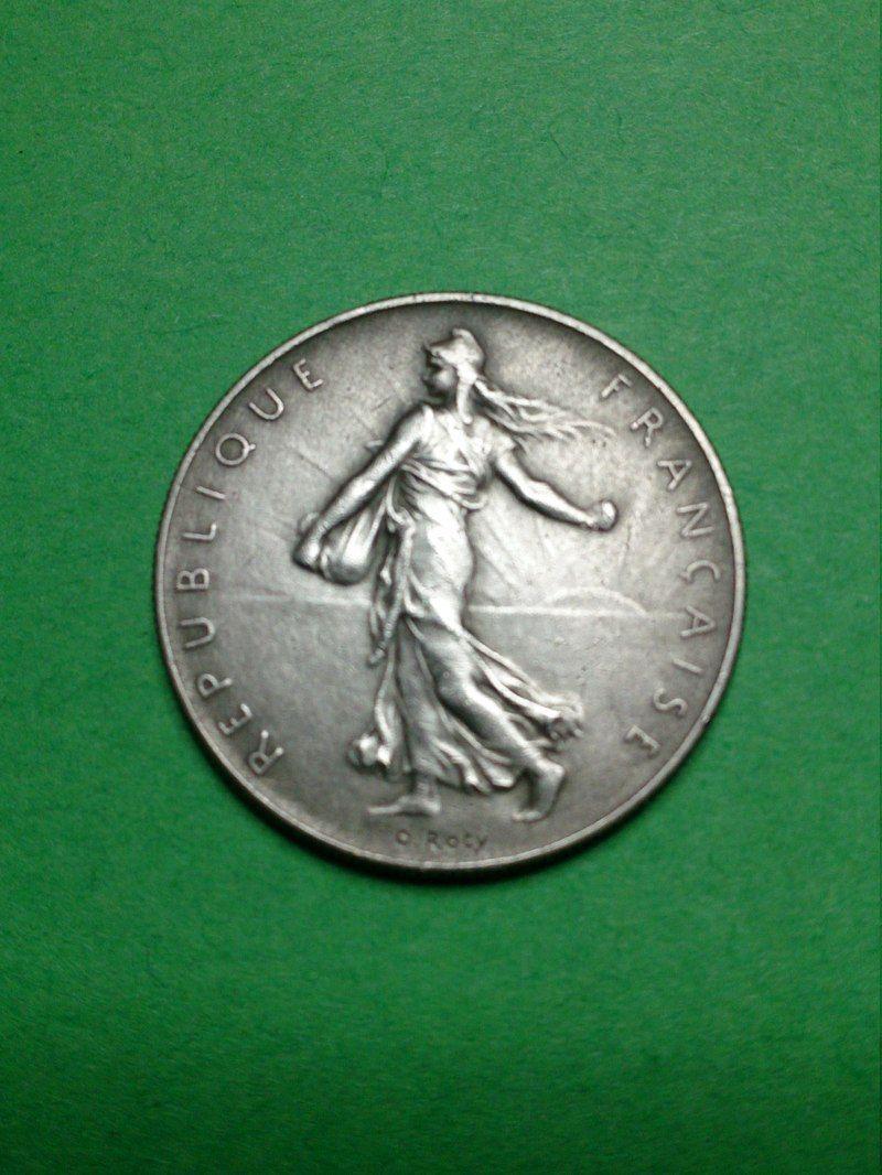 1 franc semeuse 1964 piece de monnais de nickel. Black Bedroom Furniture Sets. Home Design Ideas